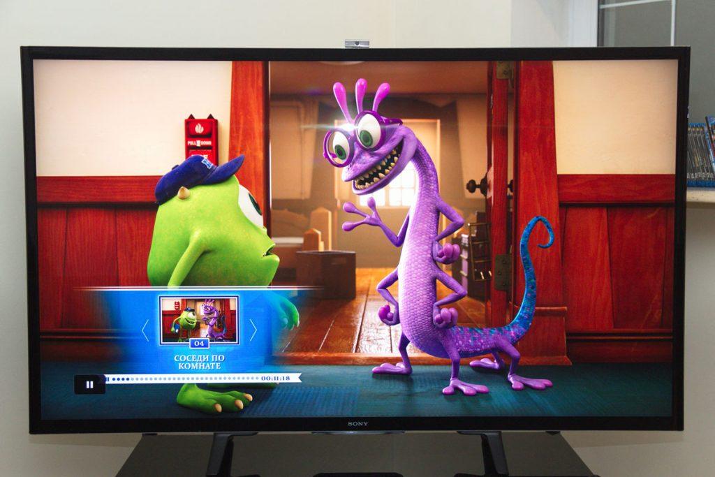 4K SMART телевизор Sony диагональю 65 дюймов