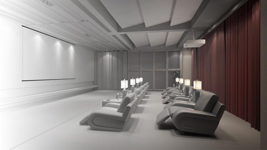 Домашний кинотеатр - персональный кинозал