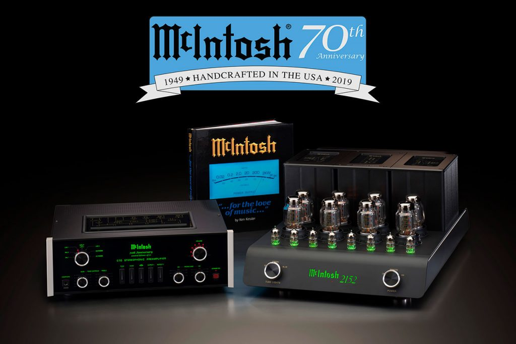 McIntosh 70th Anniversary Limited Edition Commemorative System
