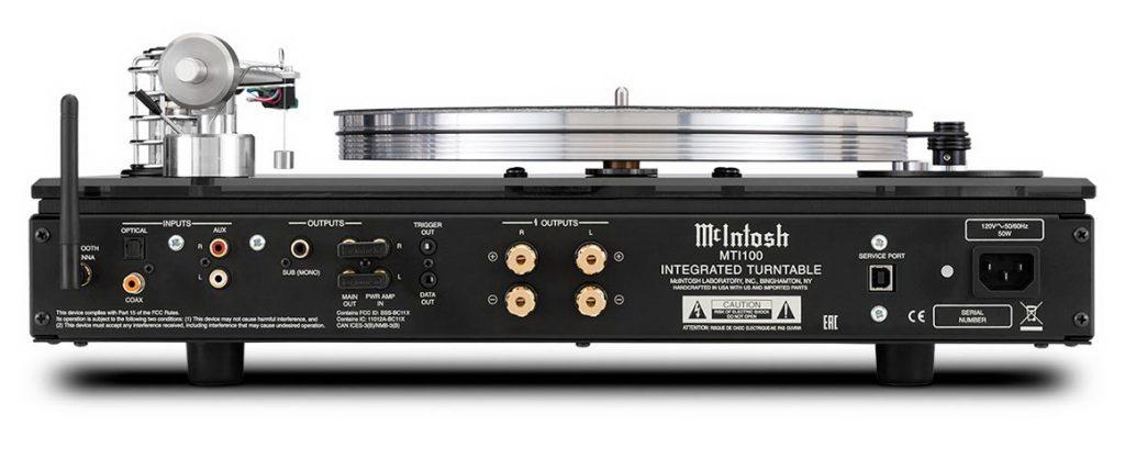 McIntosh MTI100 - Интегрированный проигрыватель винила