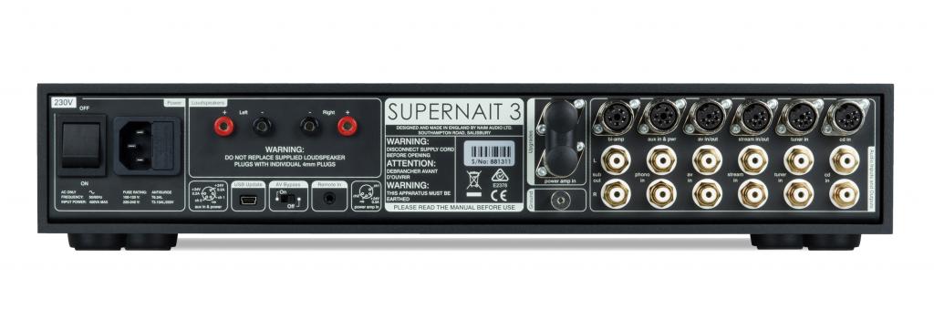 Интегрированный усилитель Naim SUPERNAIT 3