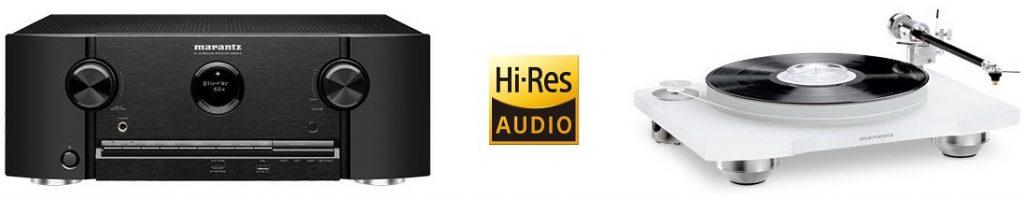Marantz SR5014 и SR6014 - поддержка Hi-Res аудио + фонокорректор на борту
