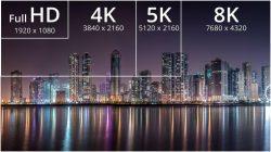 8K Ulta HD сравнение - АудиоПик - Домашние кинотеатры и стерео под ключ