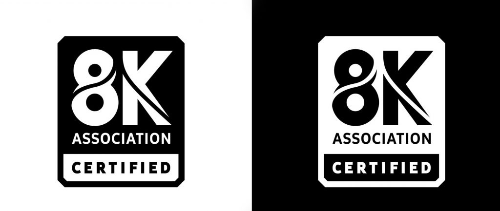 8K Association Certified - Samsung member
