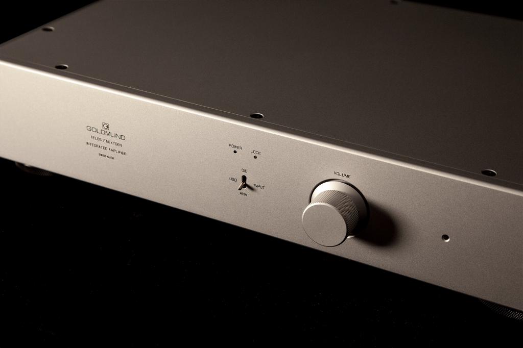 Интегрированный усилитель Goldmund Telos 7 NextGen - АудиоПик - Домашние кинотеатры и стерео под ключ