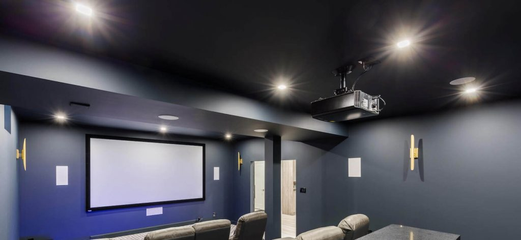 Освещение - Проектирование домашнего кинотеатра - компания АудиоПик - домашние кинотеатры и стерео под ключ. www.audiopik.ru