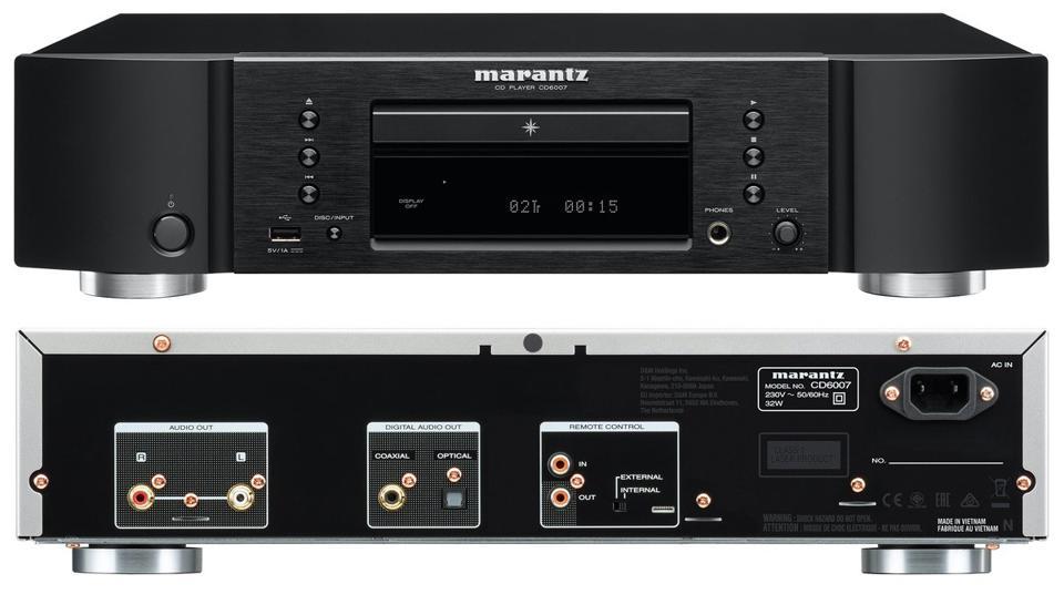 Marantz CD 6007 - Домашние кинотеатры под ключ, стерео системы - АудиоПик.