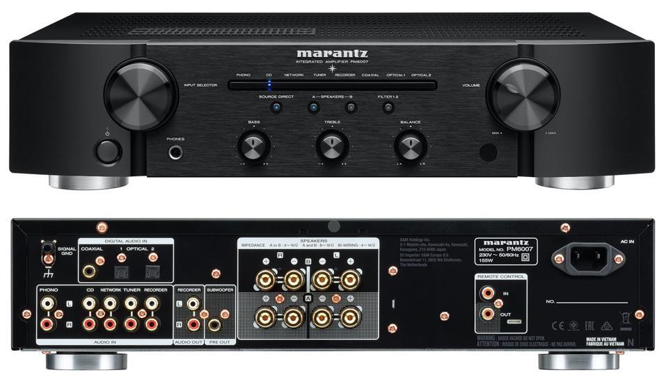 Marantz PM6007 - Домашние кинотеатры под ключ, стерео системы - АудиоПик.