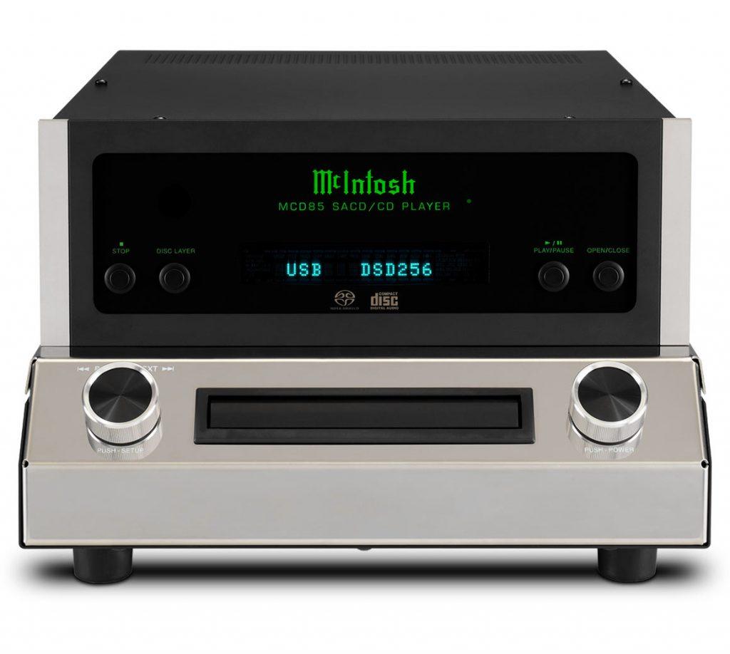 McIntosh MCD85 - SACD/CD проигрыватель со встроенным ЦАП
