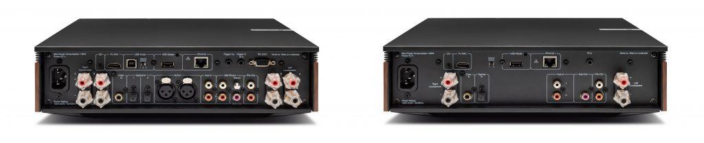 Cambridge Audio Evo 75 и Evo 150 - задняя панель
