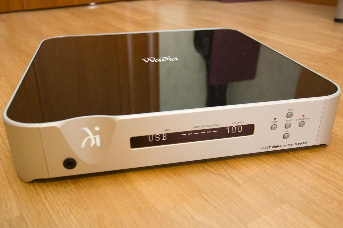 Цифро-аналоговый преобразователь Wadia di322
