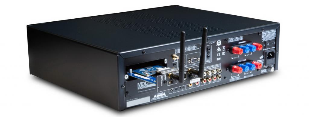 NAD C399 - интегрированный стерео усилитель с BluOS - установка модулей MDC