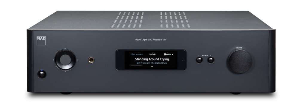 NAD C399 - интегрированный стерео усилитель с BluOS